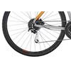 Cube Nature - Bicicletas híbridas - gris/naranja flash